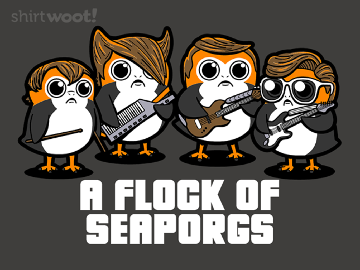 Woot!: A Flock of Seaporgs