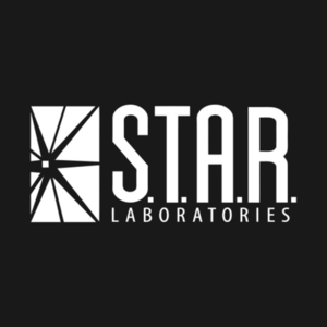TeePublic: S.T.A.R.S. LABS (THE FLASH) black