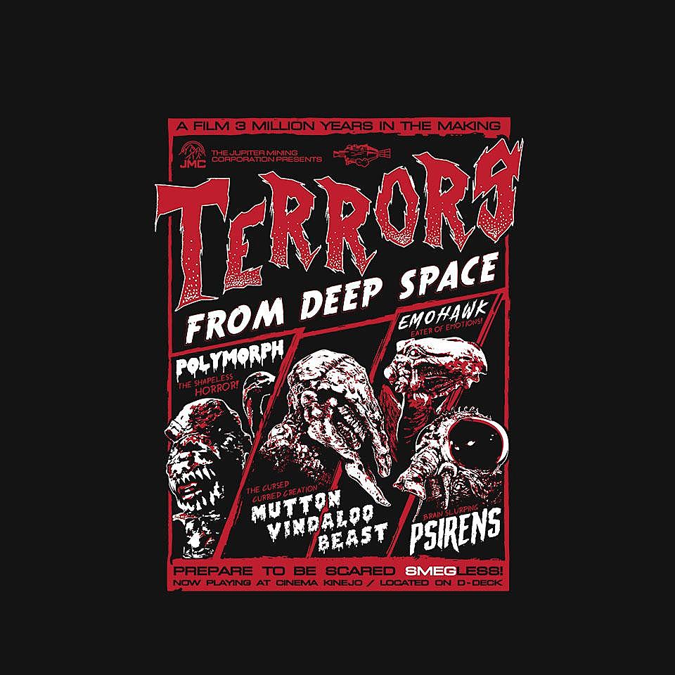 TeeFury: Terrors From Deep Space!