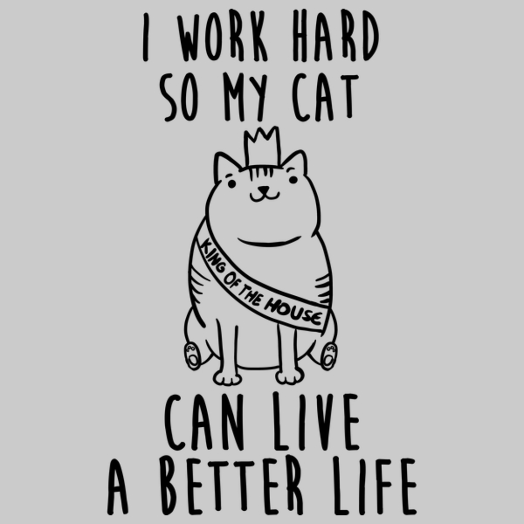 NeatoShop: I work for my cat