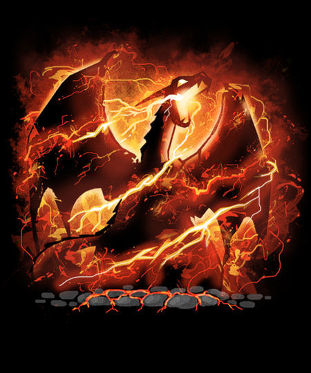 Qwertee: Dragon Fire