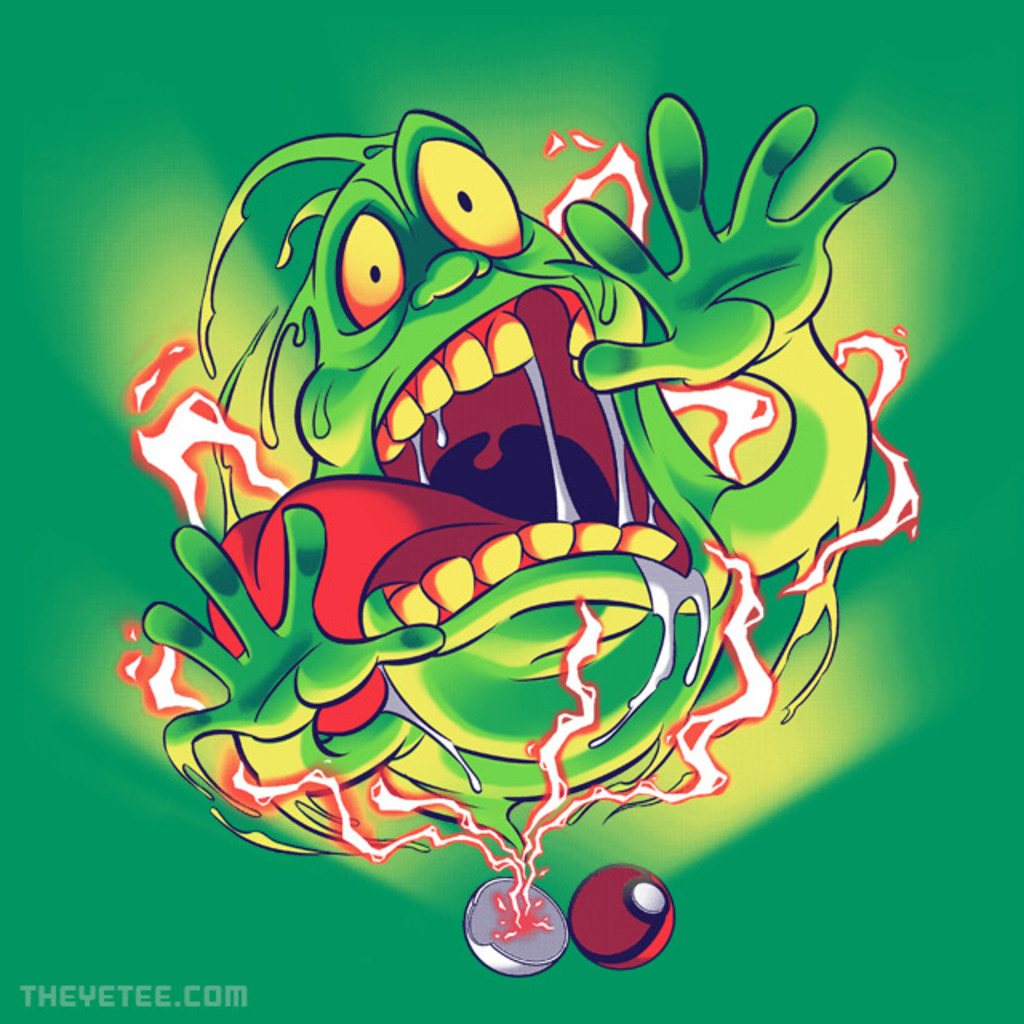 The Yetee: You Got Slimer!