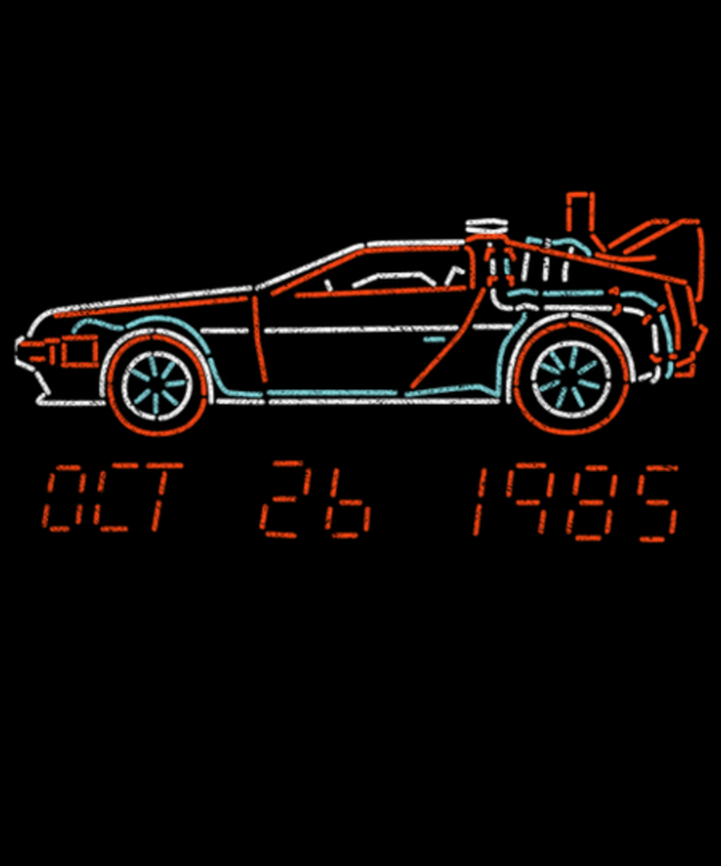Qwertee: You Built a Time Machine