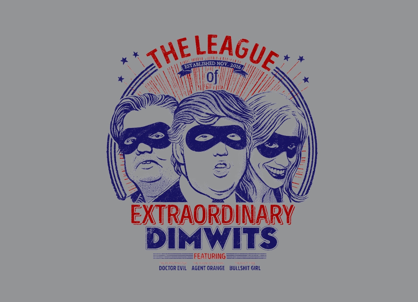 Threadless: The Extraordinary League of Dimwits