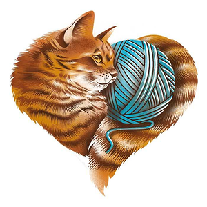 Once Upon a Tee: Knitting Kitten Love