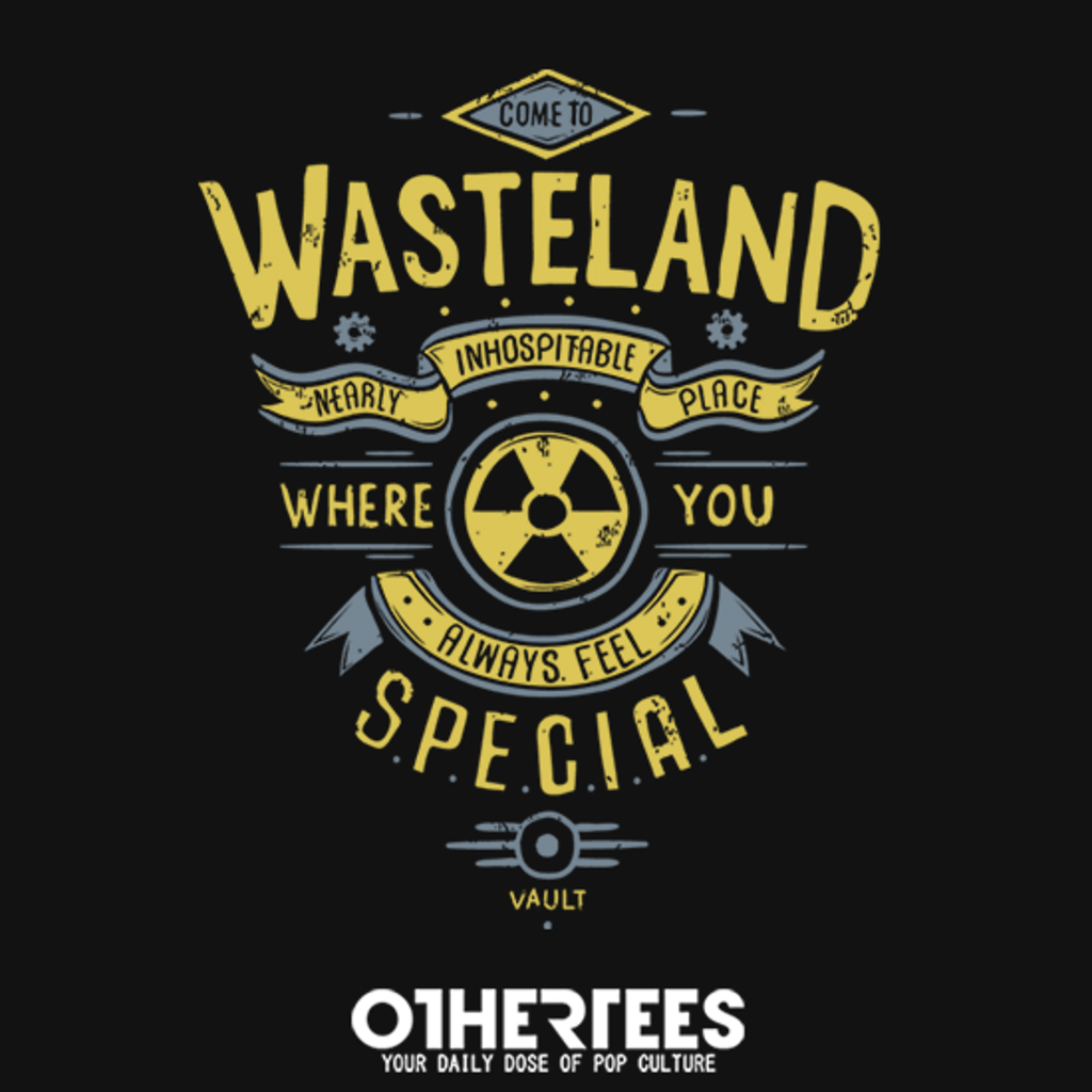OtherTees: Come to wasteland