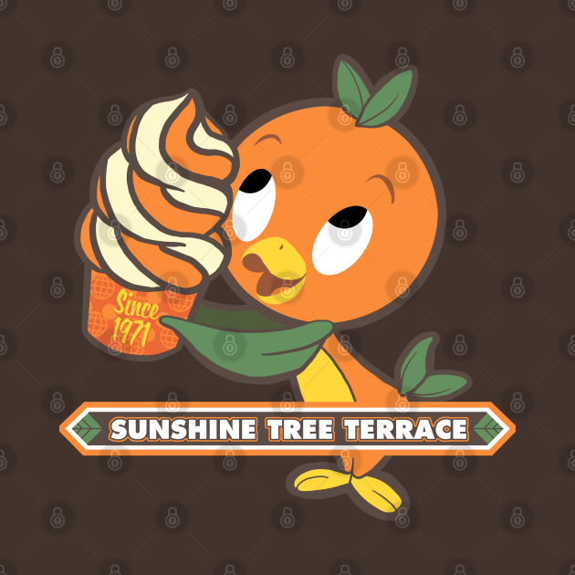 TeePublic: Florida Orange Bird - Sunshine Tree Terrace