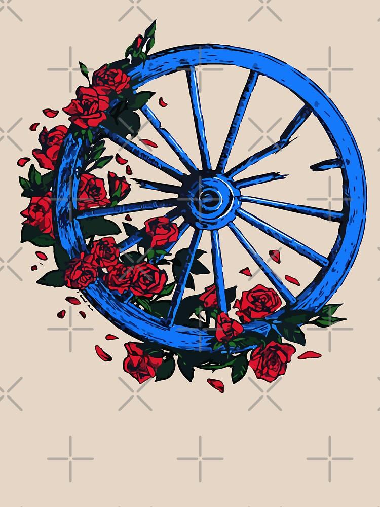 RedBubble: Grateful Dead Wheel
