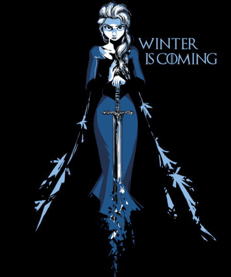 Qwertee: Winter is Coming