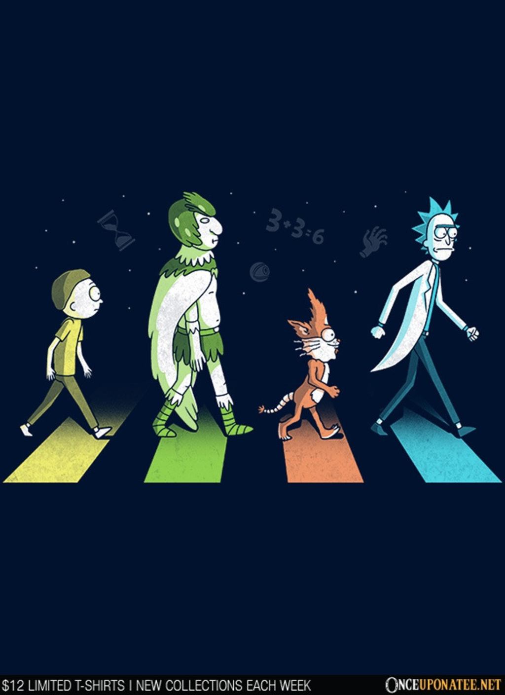Once Upon a Tee: Schwifty Road