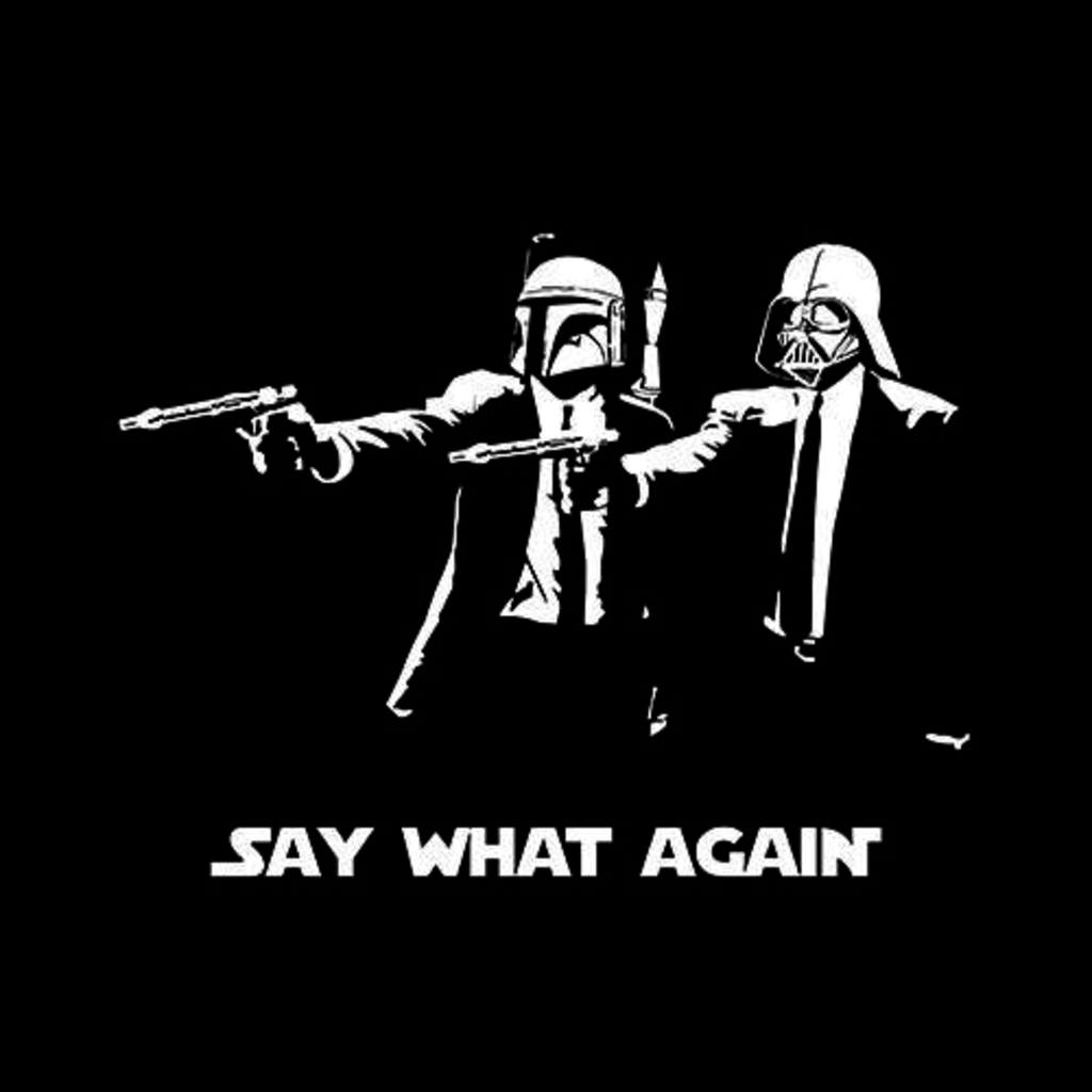 Five Finger Tees: Say What Again T-Shirt
