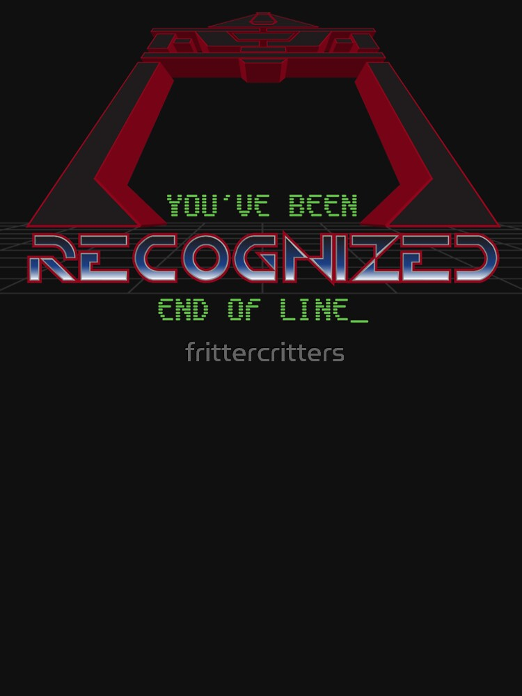 RedBubble: You've been recognized - End of line