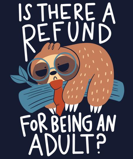 Qwertee: Adulting Refund