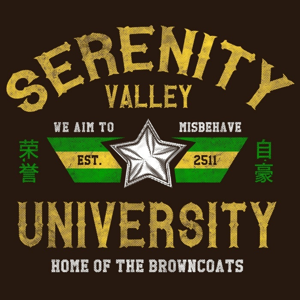 We Heart Geeks: Serenity Valley University