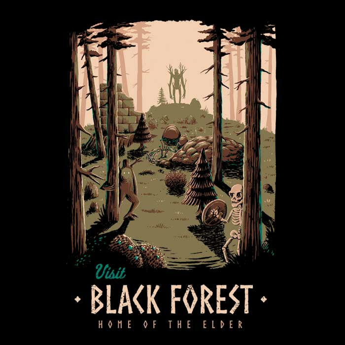 Once Upon a Tee: Black Forest