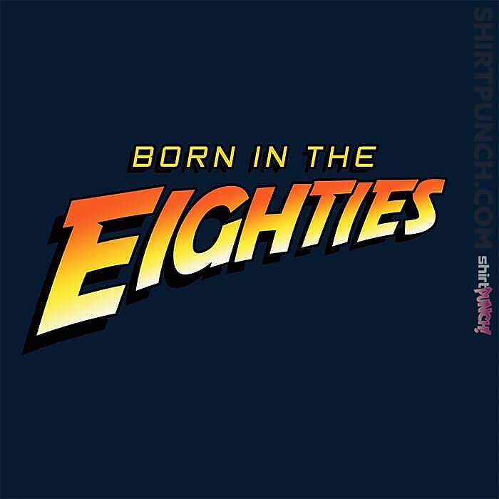 ShirtPunch: Indiana Eighties