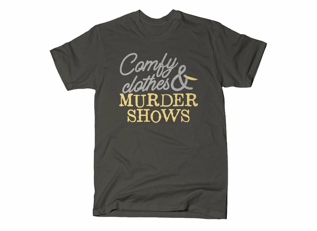 SnorgTees: Comfy Clothes & Murder Shows