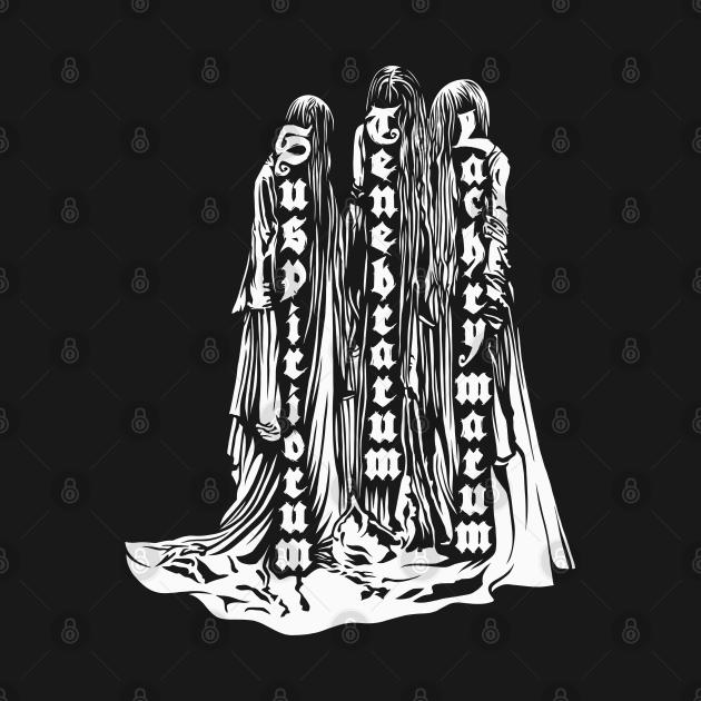 TeePublic: Suspiria Three Mothers white