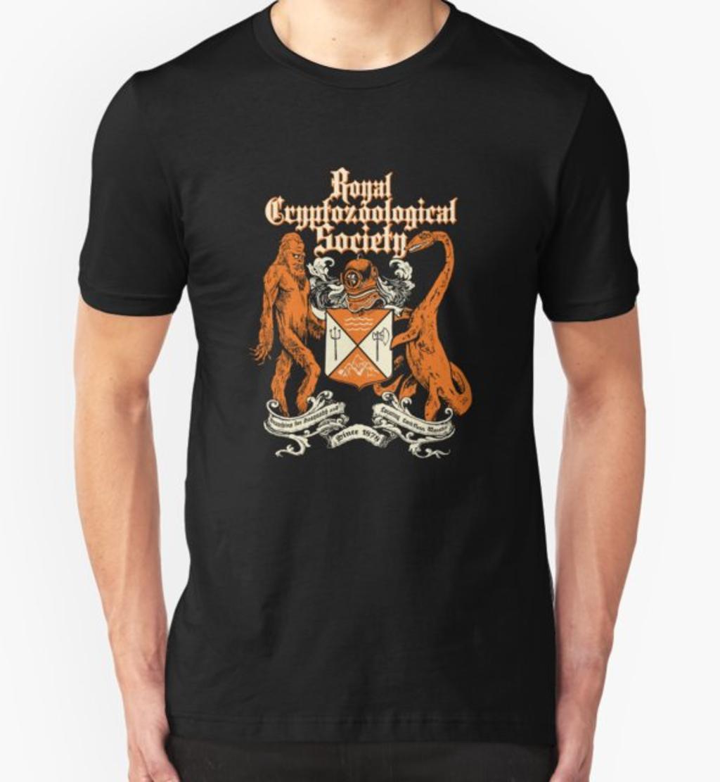 RedBubble: Royal Cryptozoological Society