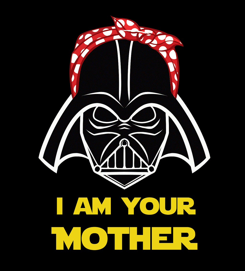 Shirt Battle: I Am Your Mother
