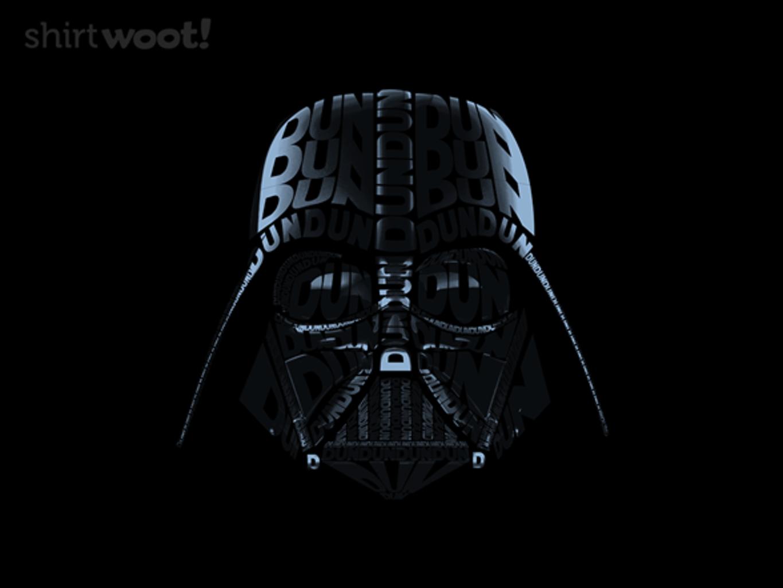 Woot!: DUN DUN DUN! - $15.00 + Free shipping