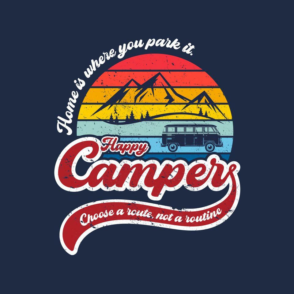 TeeFury: Happy Camper