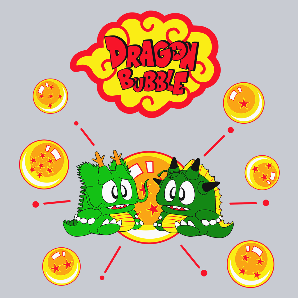 Pop-Up Tee: Dragon Bubble