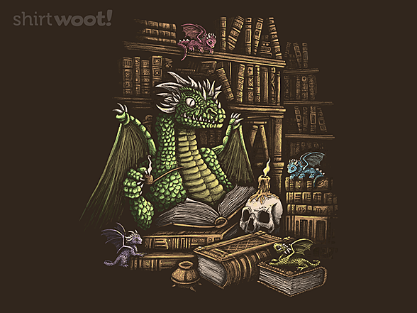 Woot!: Mythical Book Wyrm