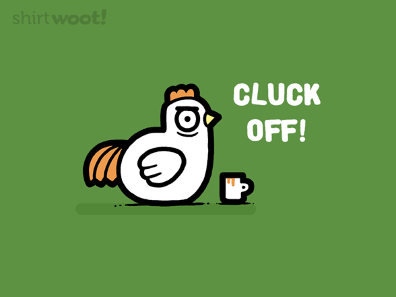 Woot!: Cluck You - $8.00 + $5 standard shipping