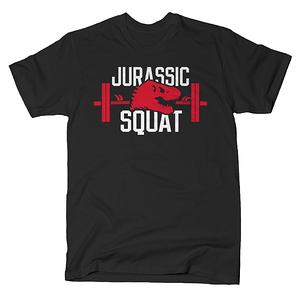 SnorgTees: Jurassic Squat