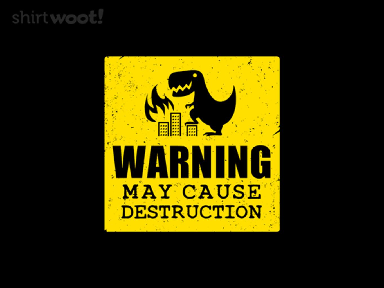 Woot!: Destructive Tendencies - $15.00 + Free shipping