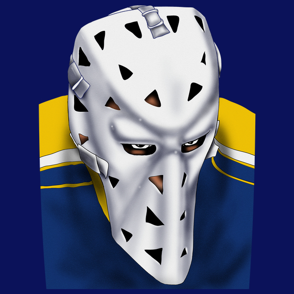 NeatoShop: St. Louis Vintage Hockey Goalie Mask