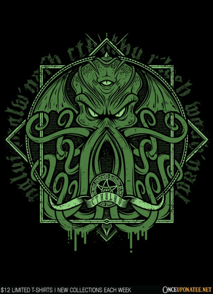Once Upon a Tee: Cthulhumicon