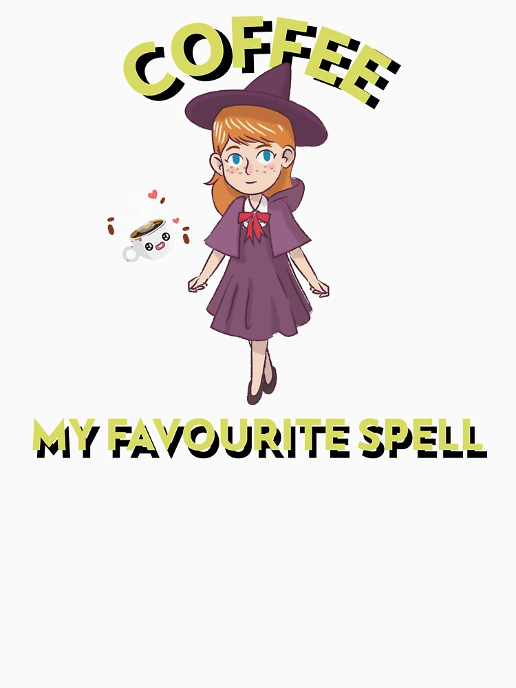 RedBubble: Coffe, my favourite spell