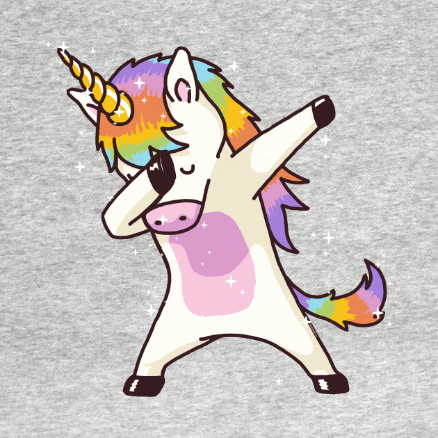 TeePublic: Dabbing Unicorn Shirt Dab Hip Hop Funny Magic