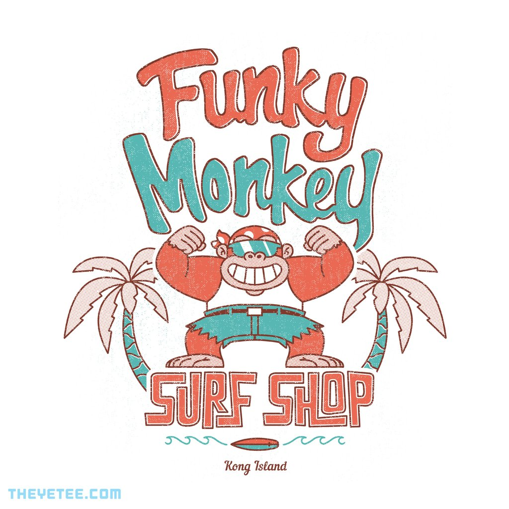 The Yetee: Funky Monkey