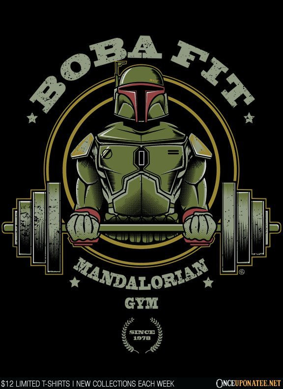 Once Upon a Tee: Boba Fit - II