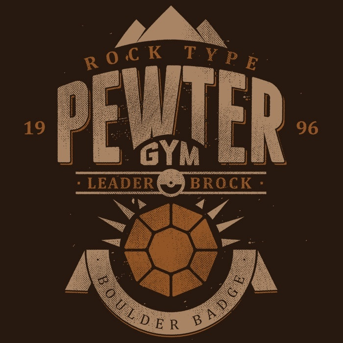We Heart Geeks: Pewter City Gym - Men's T-Shirt