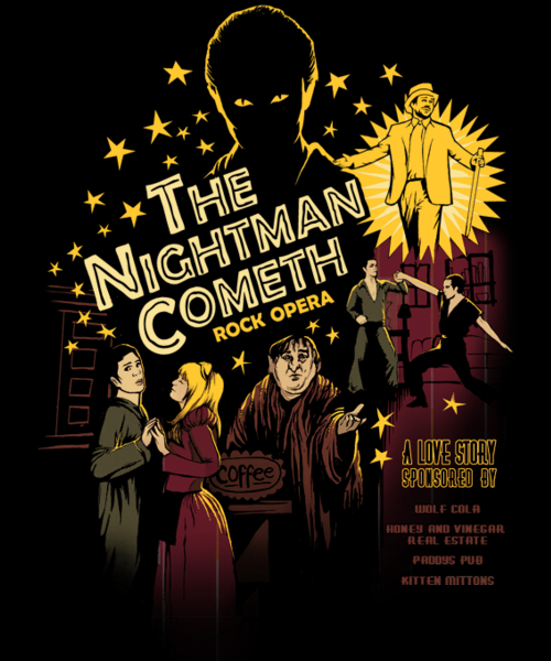 Qwertee: Nightman