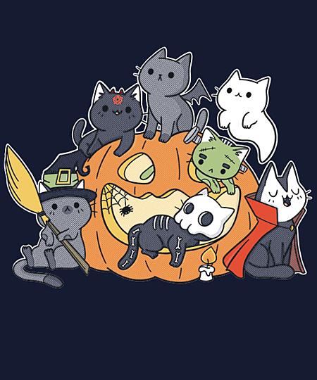 Qwertee: Halloween Kittens