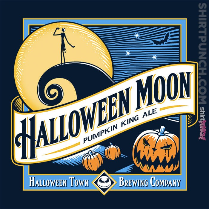 ShirtPunch: Halloween Moon