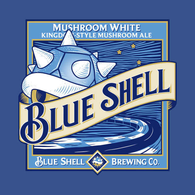 TeePublic: Blue Shell