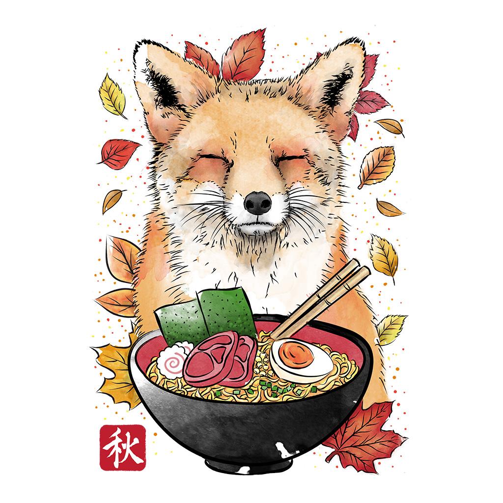 TeeTee: Fox, Leaves and Ramen