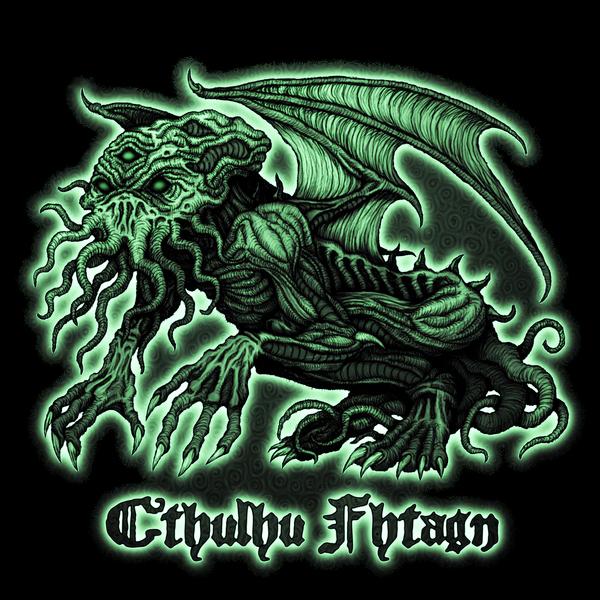 NeatoShop: Green Cthulhu - Azhmodai 2018