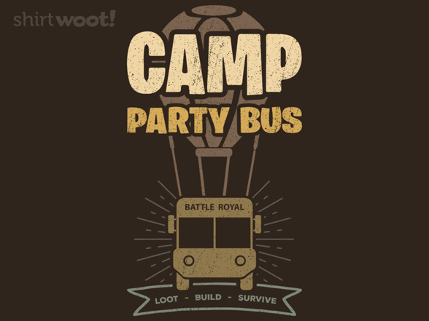 Woot!: Camp Party Bus