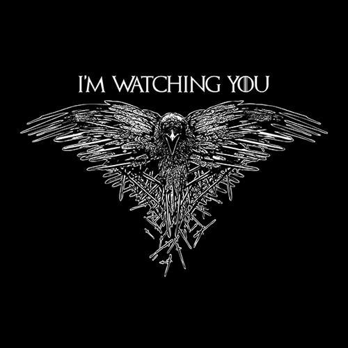 Five Finger Tees: I'm Watching You T-Shirt