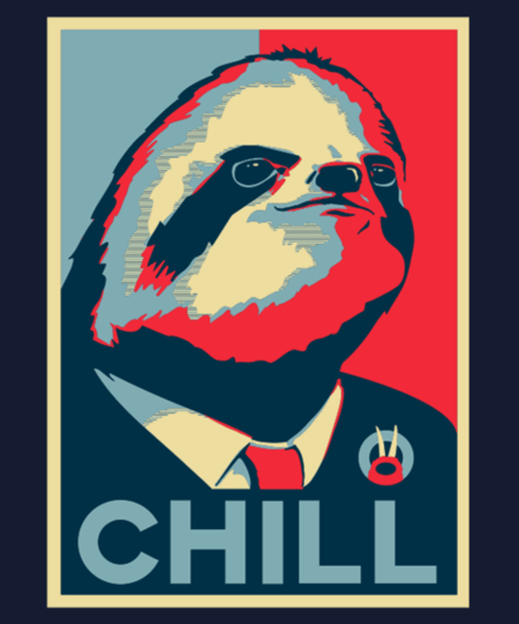 Qwertee: Sloth for President