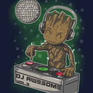 Qwertee: Dj Awesome Vol2