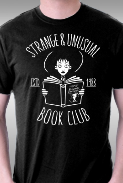 TeeFury: Strange & Unusual Book Club
