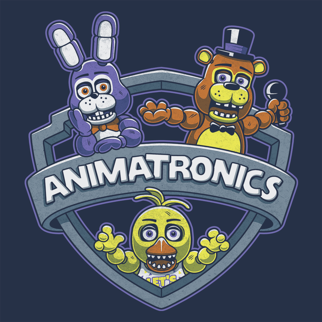 Pop-Up Tee: Animatronic Maniacs